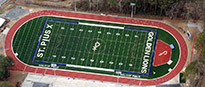 Artificial Turf Athletic Sports Fields Synthetic Grass